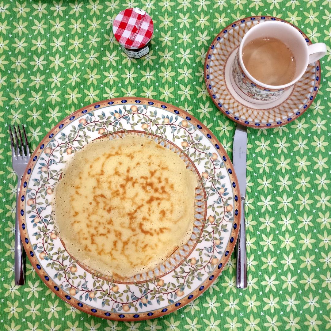 Pfannkuchen zum Frühstück